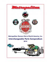 2010 Interchangeable Parts Compendium