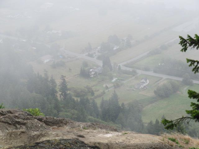 """View from the top of the """"Mountain"""""""