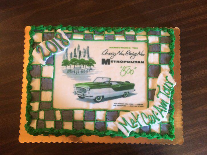 Banquet cake - Jack Woodruff